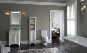 Laura Ashley bathroom Collection Langham roomset