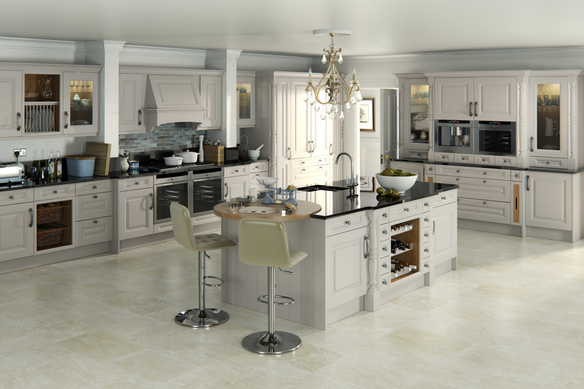 traditional kitchen design painted kitchens