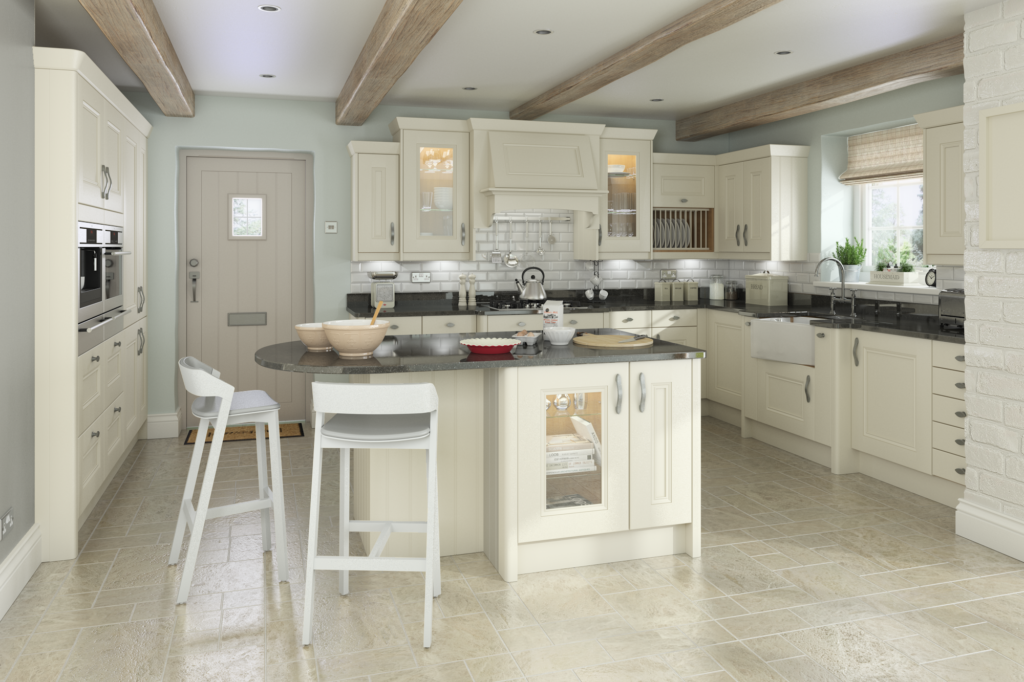 traditional kitchens - painted oak kitchen
