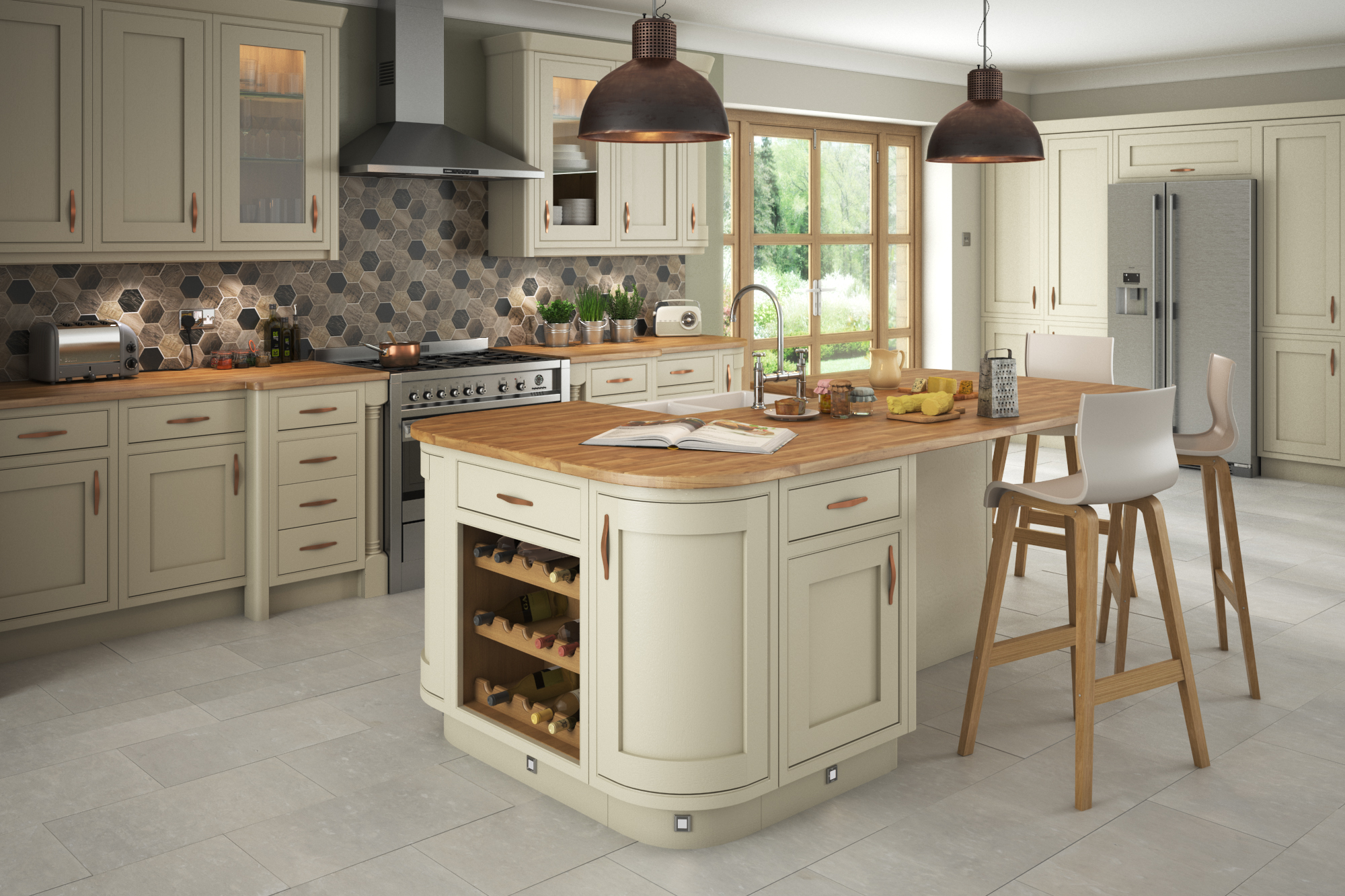 Traditional In Frame Kitchen Design Painted Kitchens Think Kitchens Northallerton