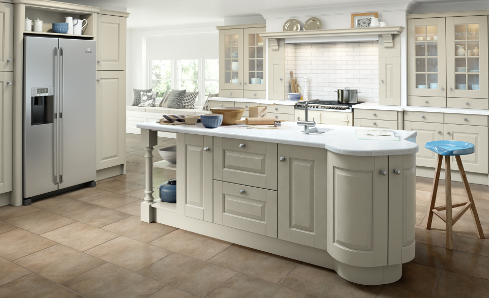 traditional kitchen design - Hampton
