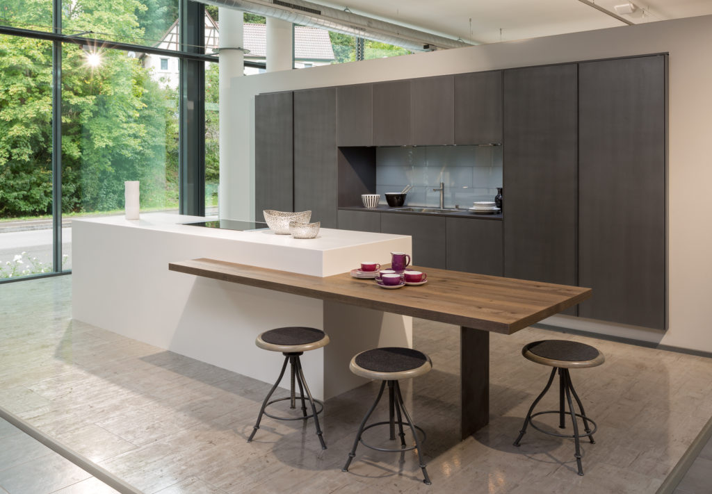 Rempp Kitchens Steel effect lacquer