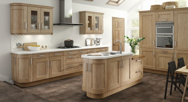 Traditional kitchens - oak kitchen