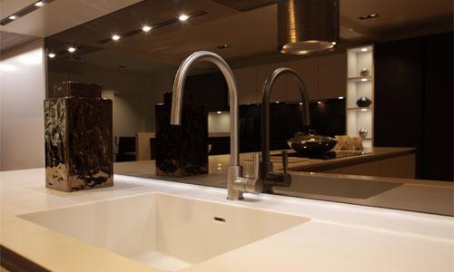 bronze-mirror-5 glass splash back