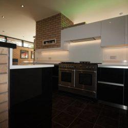kitchen designers of black gloss kitchens