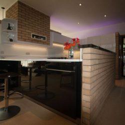 kitchen designers of white gloss kitchens