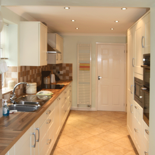 Fitted kitchens in a traditional shaker style