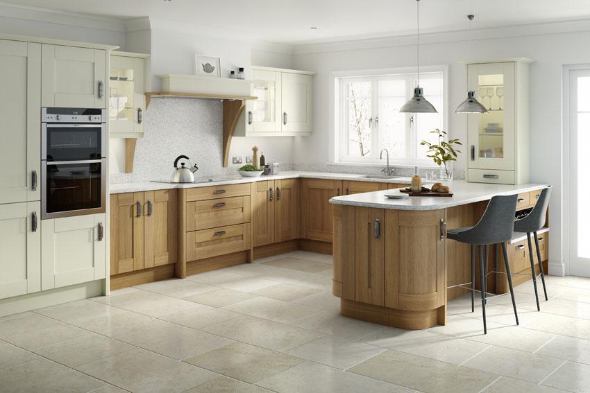 Traditional Kitchens - Broadoak Oak