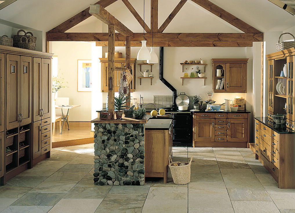 Traditional Kitchens - Croft Oak