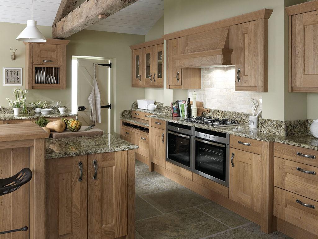 Traditional Kitchens - Lyndon Oak