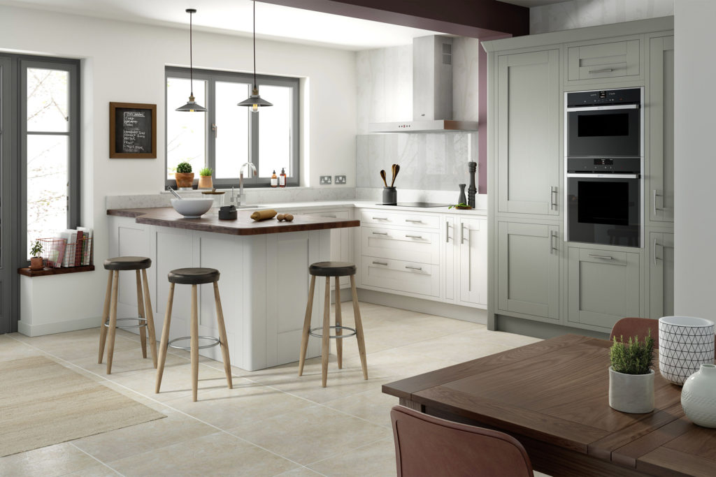 traditional painted kitchens