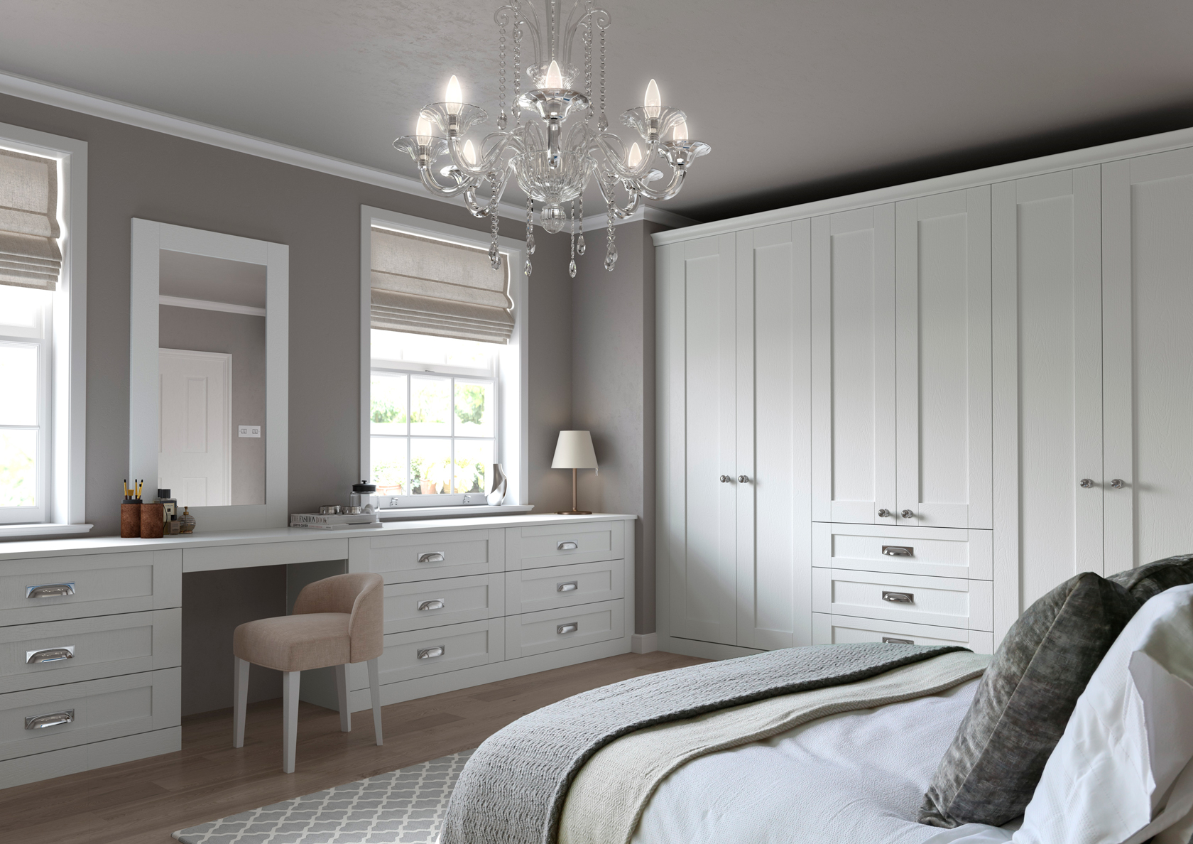 painted bedroom furniture bedroom wardrobes think 13826 | finsbury bedroom white
